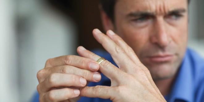 Мужчина после развода