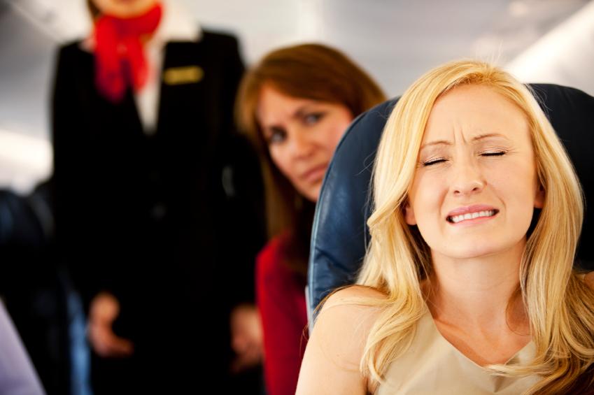 СТрашно летать на самолёте
