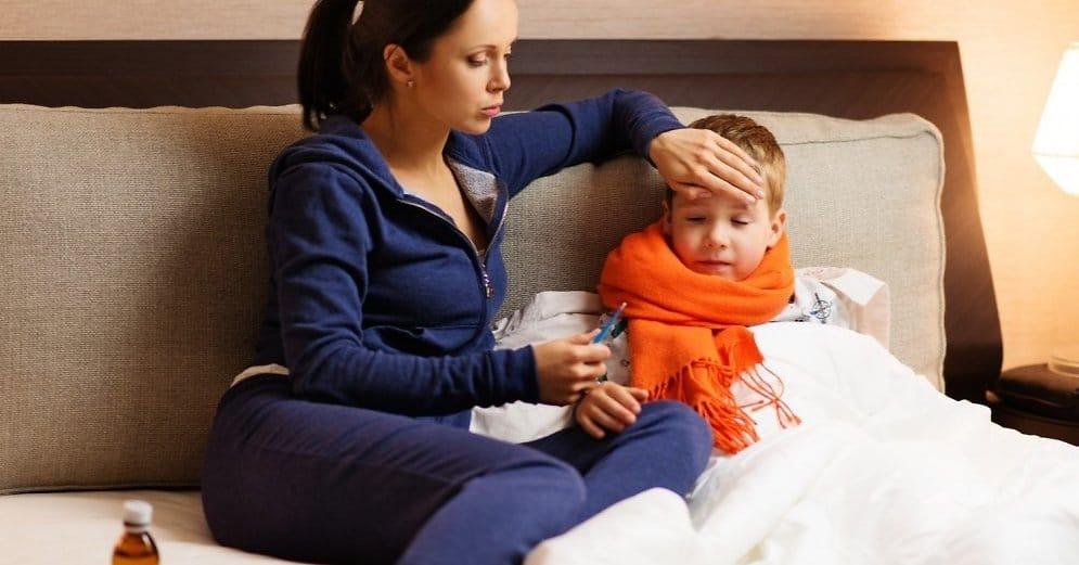 Низкий иммунитет у ребёнка