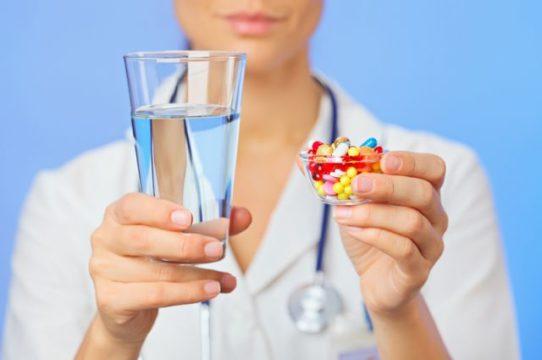 Прием лекарства