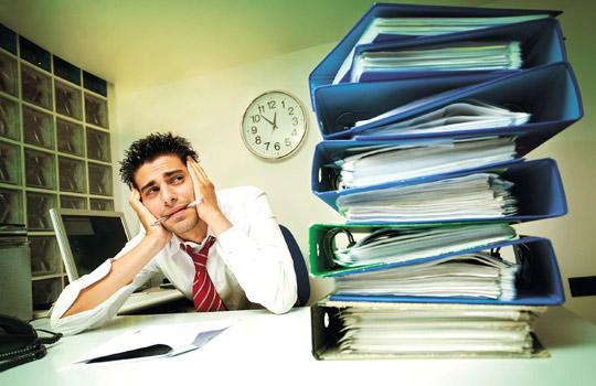 Депрессия от работы