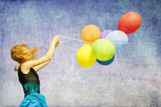Картина с шариками