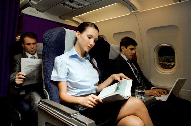 Отвлечься во время полёта