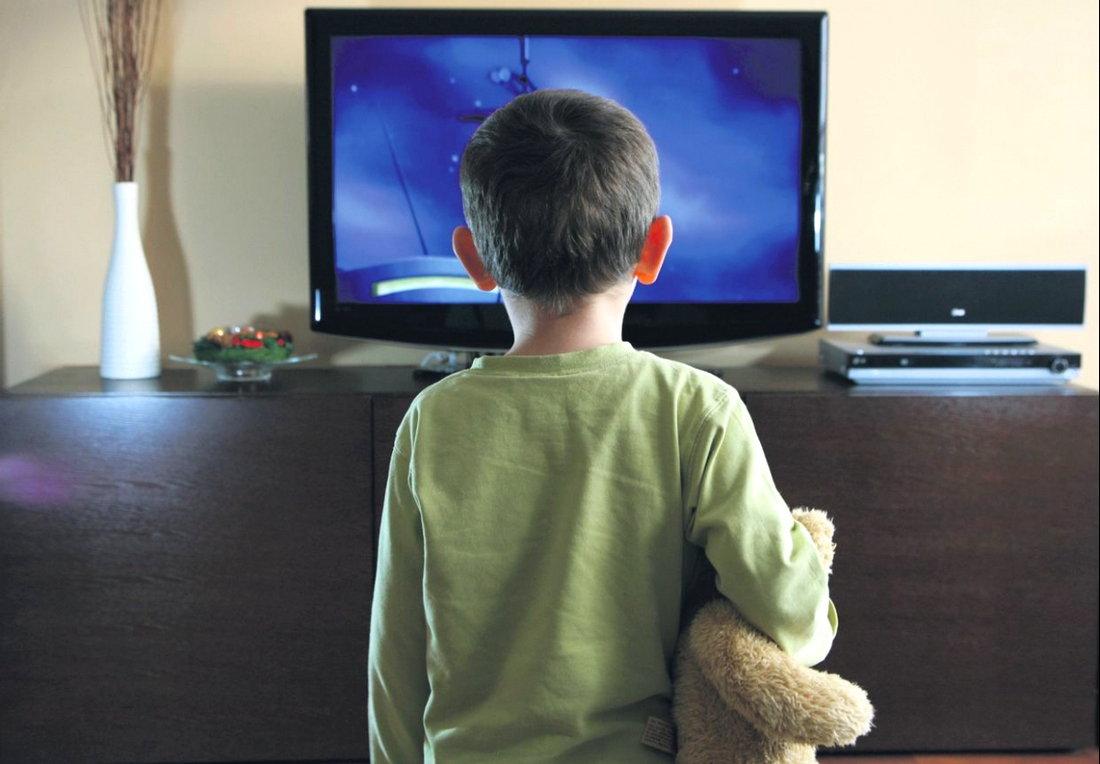 Ребёнок и телевизор